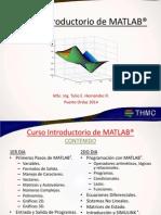 Curso Introductorio de MATLAB®