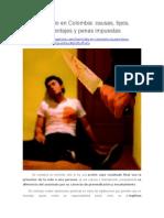 Homicidio en Colombia