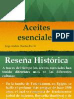 Actividad 1 Reseña Historica de Los Aceites Esenciales