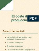 5. El Costo de Producción