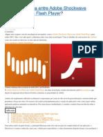 Qual a diferença entre Adobe Shockwave Player e Adobe Flash Player.docx