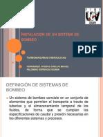 Instalacion de Un Sistema de Bombeo ( Hernandez Viveros Carlos Miguel- Palomino Espinosa Susana)
