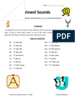 Vowel Sounds Collection Second Grade Reading Comprehension Worksheets