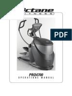 Pro4700 Operations Manual