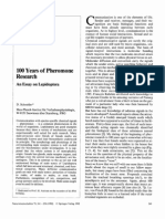 100 Years of Pheromone Research, An Essay on Lepidoptera