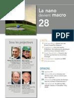 FORWARD, le magazine de la FEB, décembre 2009, Le sommaire