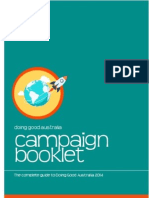 Doing Good - Campaign Booklet