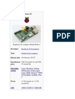 About Raspberry Pi