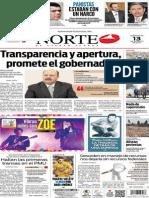 Periódico Norte edición del día 13 de agosto de 2014