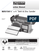 Record Power SDS150 manual