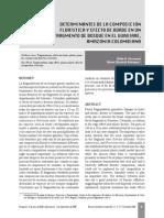 Determinantes de La Composición Floristica y Efecto Borde en Un Fragmento de Bosque en El Guaviare Amazonia Colombiana