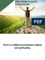 Enhancing Spirituality
