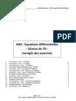 an3 - equations differentielles - ex td - rev 2014