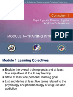 C1 Mod 1 – Training Introduction