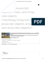 Advanced Javascript_ Objects, Arrays, And Array-Like Objects