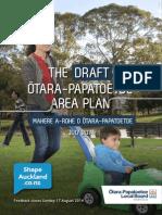 Otara Papatoetoe Area Plan