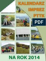 Kalendarz Imprez PTTK 2014