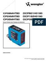 Operating Instructions CP35MHT80