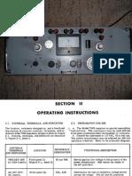 Fluke 710 Impedance Bridge Operating Manual