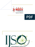 Neev's Presentation on IJSO (NSEJS Stage 1)