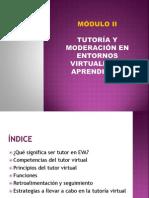 Módulo 2 - Tutoría y Moderación en Entornos Virtuales de Aprendizaje