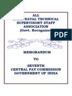AINTSSA's Memorandum to 7th CPC