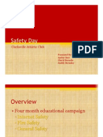 Safety Day Presentation