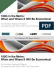 2014 Infonetics 100g in the Metro 19feb2014 Final