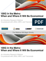 2014 Infonetics 100g in the Metro 19feb2014 Final
