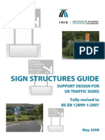 Design Guide for Sign Structures - BS en 12899-1-2007