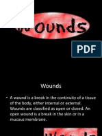 Mapeh 9(Health) on Wounds