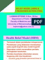 Health Belief Model (Hbm) &