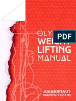 The Juggernaut Method Olympic Weightlifting Manual
