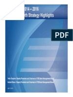VTB Group Strategy 2014 2016