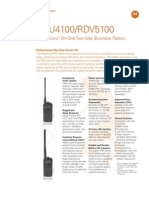 RDX Series on-Site Two-Way Business Radios