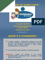 1°ENCONTRO DE CUIDADORES 2014