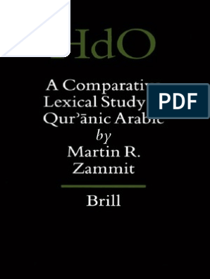 Handbook of Oriental Studies 61 )Martin R  Zammit-A