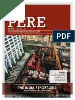 PERE 2013 India Report