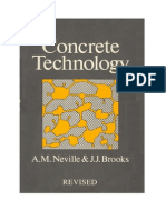 Concrete Technology - Neville