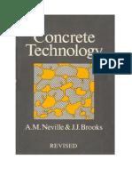 Concrete Technology - Neville
