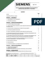521101- QAR Traceability of Material (Siemens)