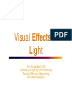 1 Visual Efects of Light