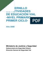Educacion Vial Para n Primario