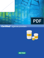 Agarose Powder Brochure
