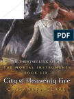 City of Heavenly Fire Sample Chapter