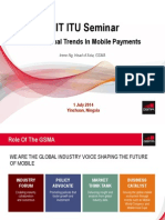 International Trends in Mobile Payments