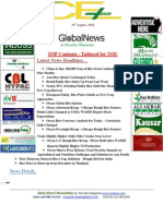 13th August,2013 Daily Global Exclusive ORYZA E-Newsletter by Riceplus Magazine