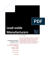 Lead Oxide Manufacturers