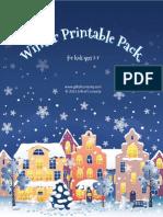 Winter Printable Pack 2013