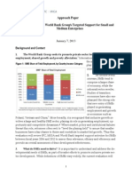 Evaluation of the World Bank Group's Targeted Support for SMEs